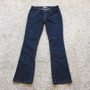 Old Navy The Diva dark wash jeans, size 2 regular